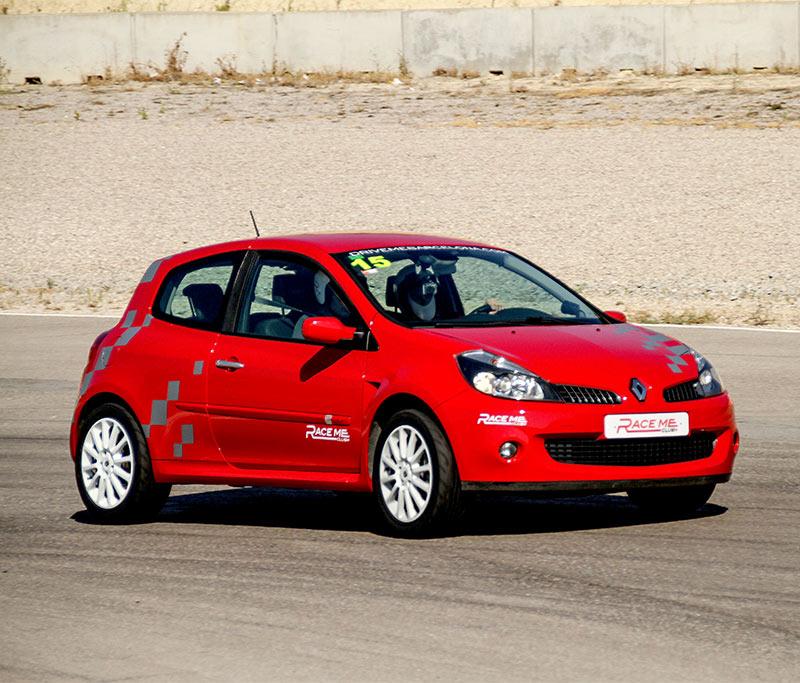 Conducir Renault Clio Sport en circuito experiencia de conducción