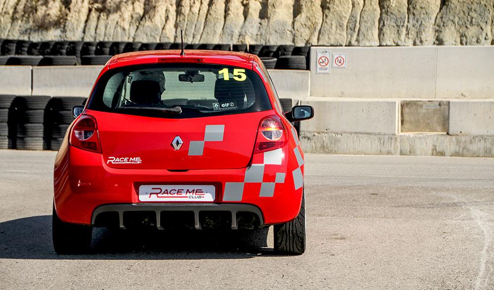 Renault Clio Sport back foto