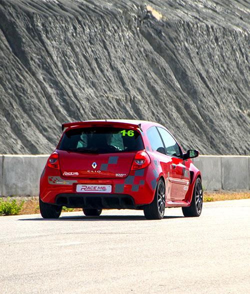 Experiencia en circuito con Renault Clio Sport