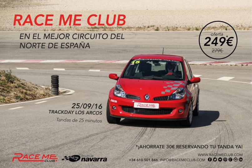 Trackday Evento en circuito Los Arcos Navarra