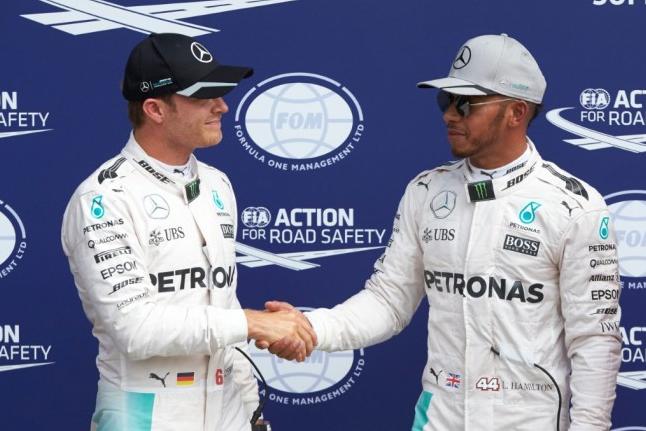 Hamilton Rosberg Temporada 2016
