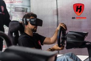Road VS Circuit Playseat VR Hi-Speed